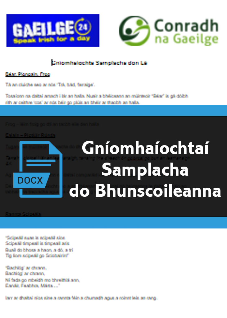 gniomhaochtasamplachaBS